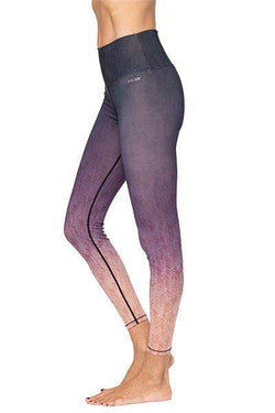Alpha 7/8 HW Legging, Grey/Purple Ombre (AR-33) - Full - AR-33