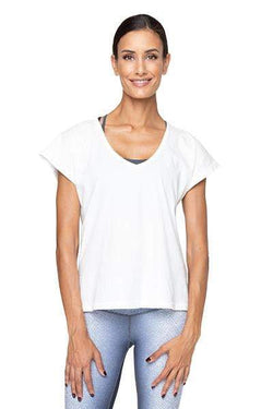 Kerry Tee, White (Varley) - Shirt - Varley