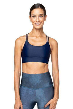 Lola Bra, Navy - Bra Top - Vie Active