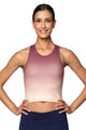 Wren Crop Top, Desert Mauve Ombre by Threads 4 Thought