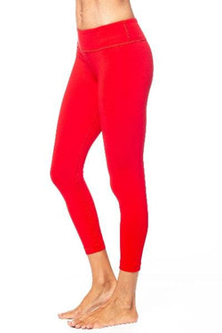 Basic 7/8 Legging, Ruby by Vimmia