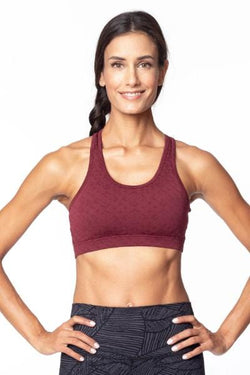 Elliptical 2.0 Sports Bra, Port Geo (MPG)