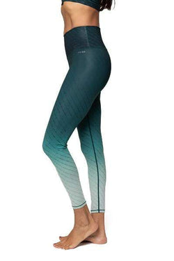 Alpha 7/8 HW Legging, Hunter Green Fade (AR-33) - Full - AR-33