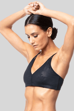 Ally Bra, Black Camo Brushed - Bras - Vie Active