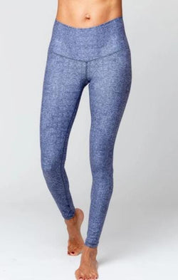 Cora Marine Layers Legging, Blue/White