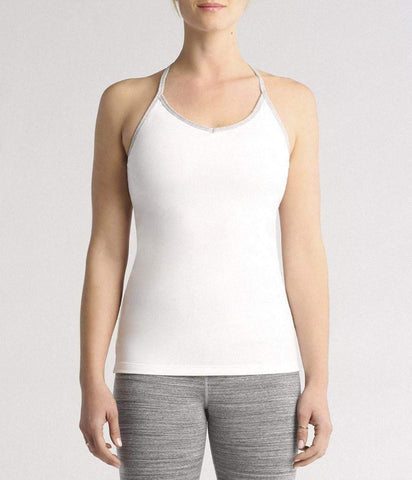 CROSS STRAP CAMI - WHITE (Manduka)