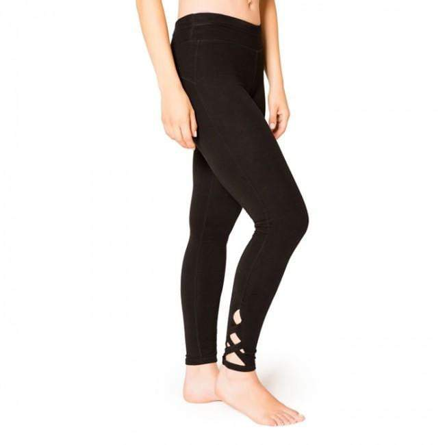 Lattice Leggings Black (Satva)