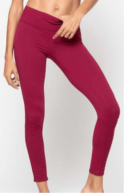 Minx Moto Legging, Aubergine (Threads 4 Thought) - Full - Threads 4 Thought