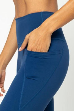 Lili 3/4 Leggings, Royal Blue (Vie Active)