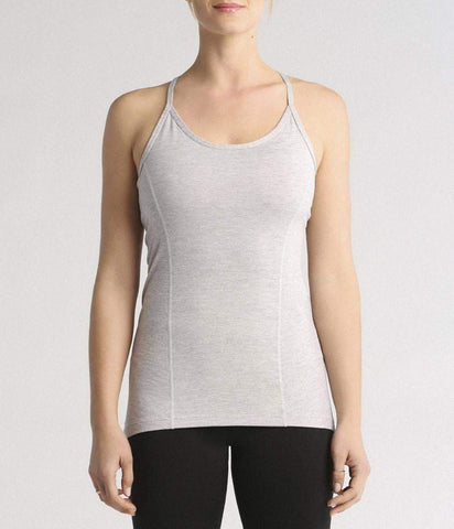 LOOP BACK CAMI - LT HTHR GREY (Manduka)