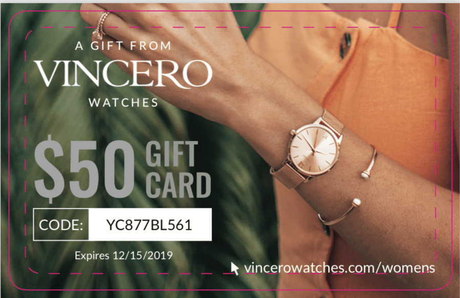 Vincero Watch Insert