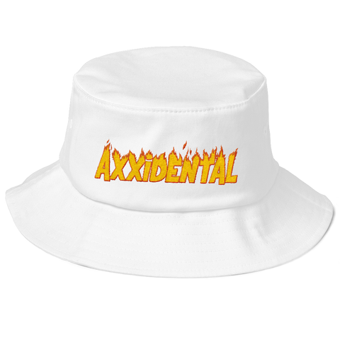 Fire - Old School Bucket Hat