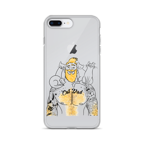Cat Dad iPhone Case
