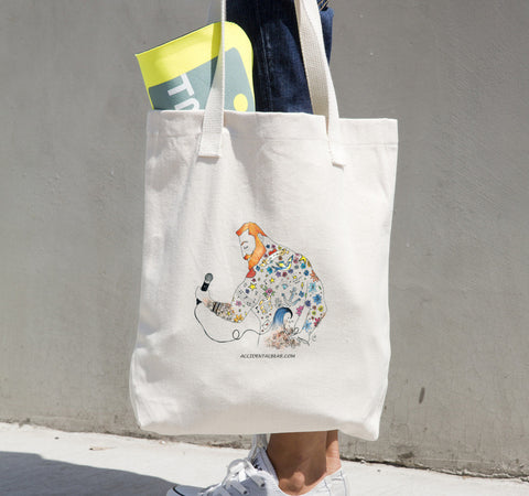"""Ginger Rocker"" Tote bag"