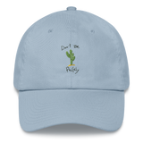 "Cactus ""Don't Be Prickly"" Dad hat"