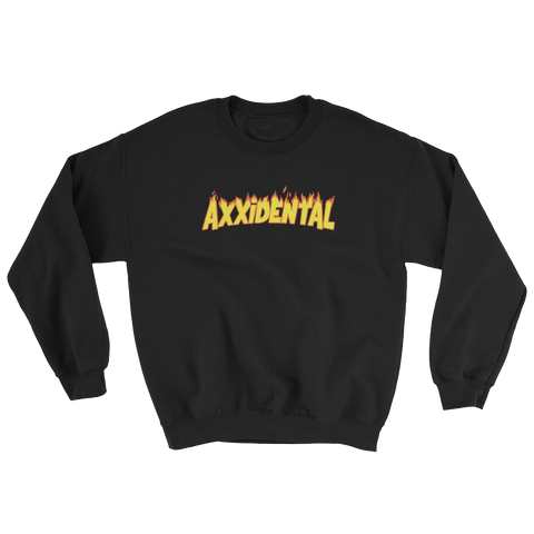 Fire Ring Neck Sweatshirt