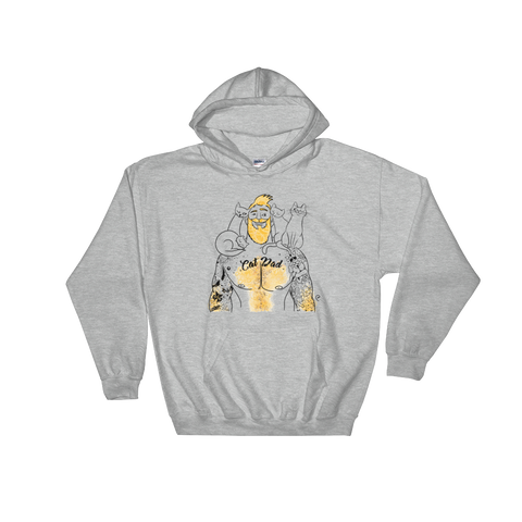 Cat Dad - Hooded Sweatshirt