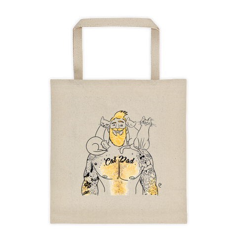 Cat Dad Summer Tote bag