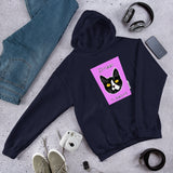 Different is Pawsome (Face) Hooded Sweatshirt