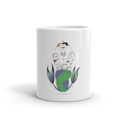 """Merman Hug"" Mug"