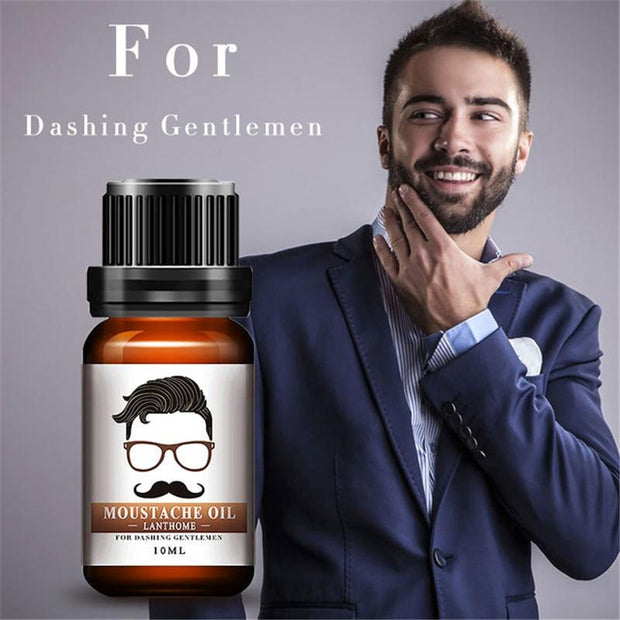 😱Absolute Hair Growth Essence - Moustache Oil🔥 -BUY 2 GET 1 FREE -