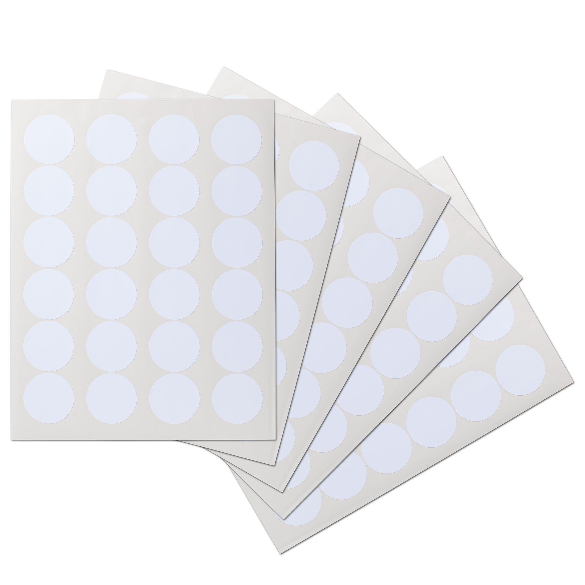1.7 inch Circle Waterproof Labels