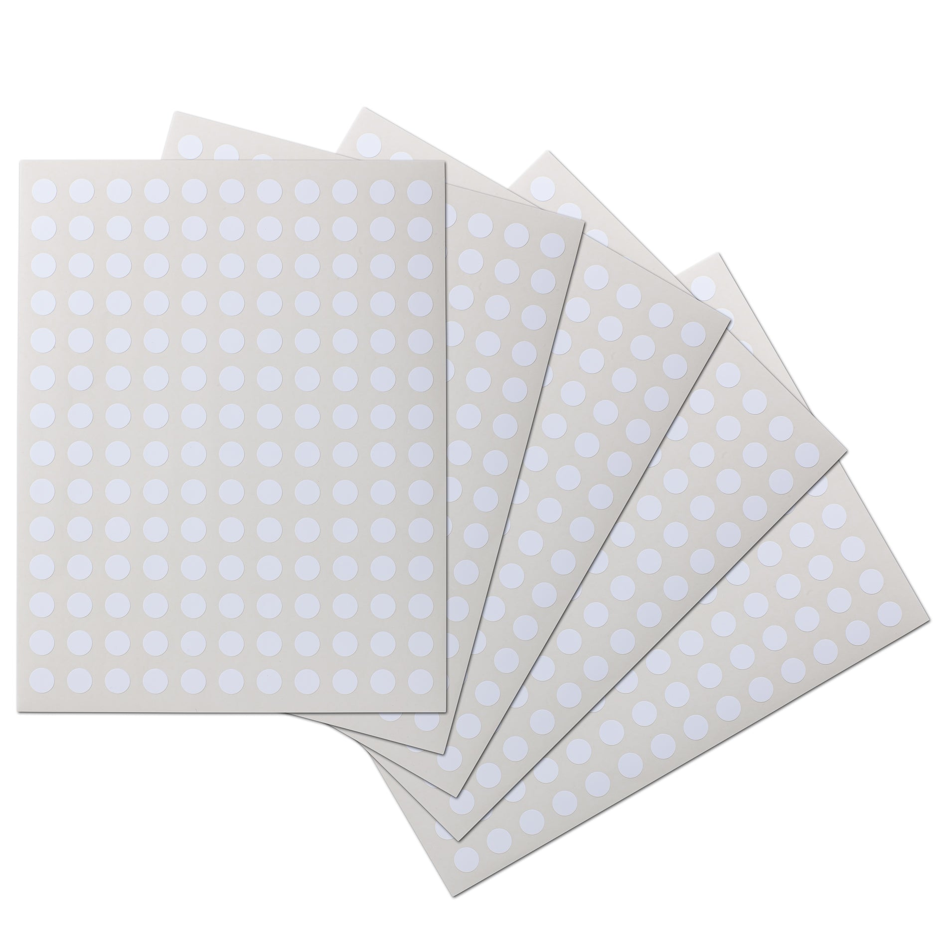 0.5 inch Circle Waterproof Labels