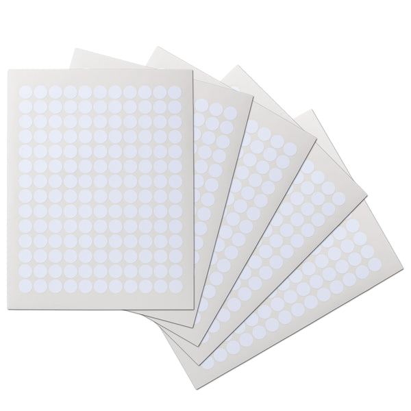 .625 Circle Waterproof Labels