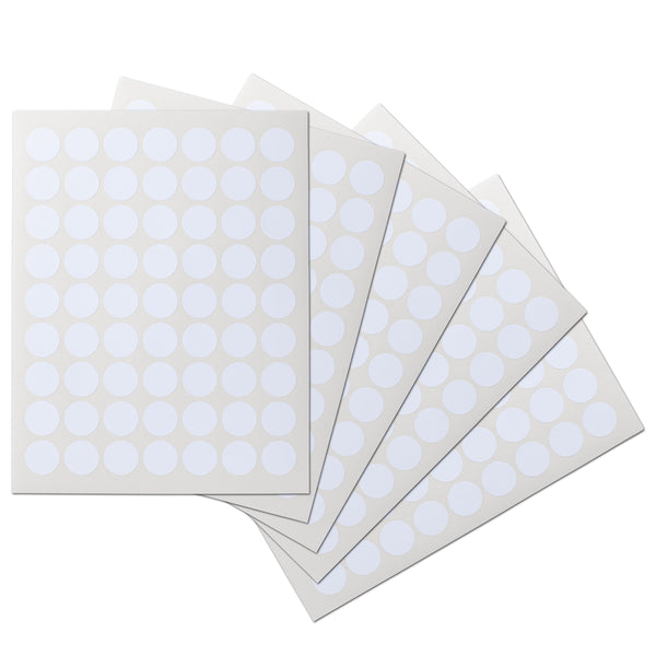 1 inch Circle Waterproof Labels