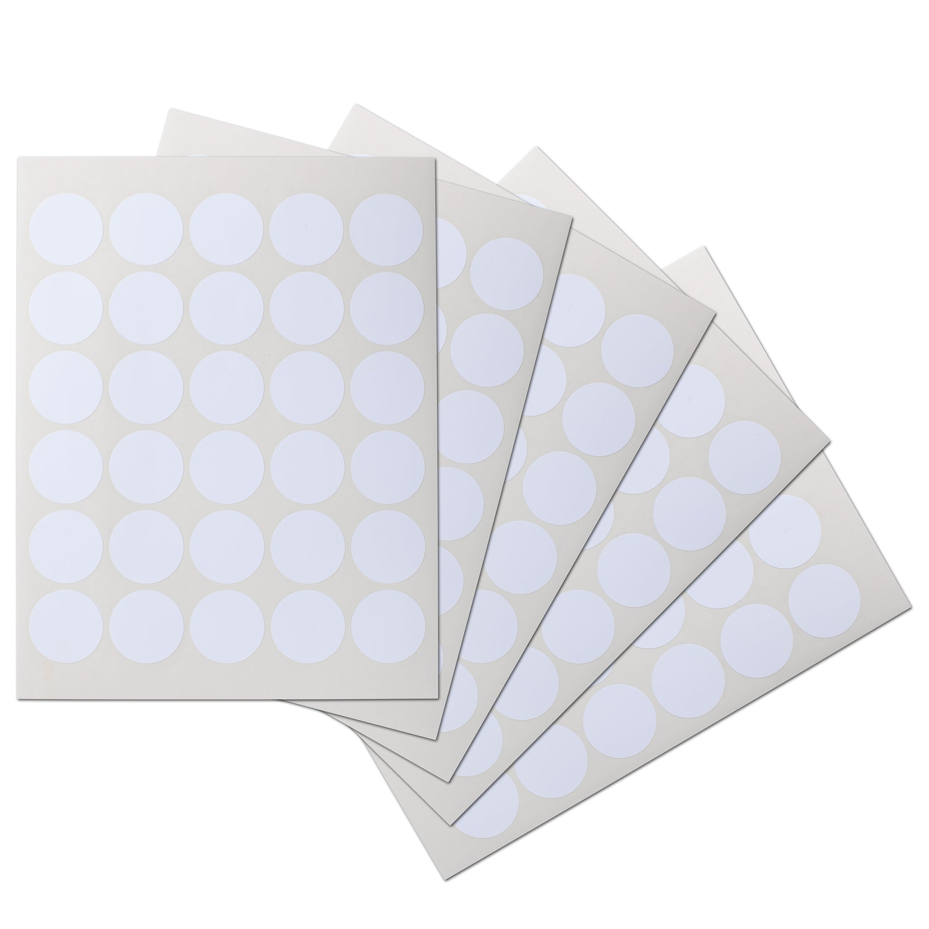1.5 inch Circle Waterproof Labels