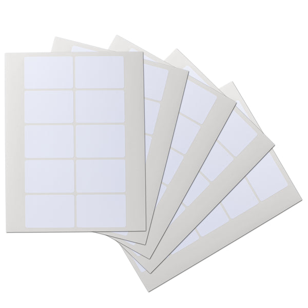 3x2 inch Rectangle Waterproof Labels