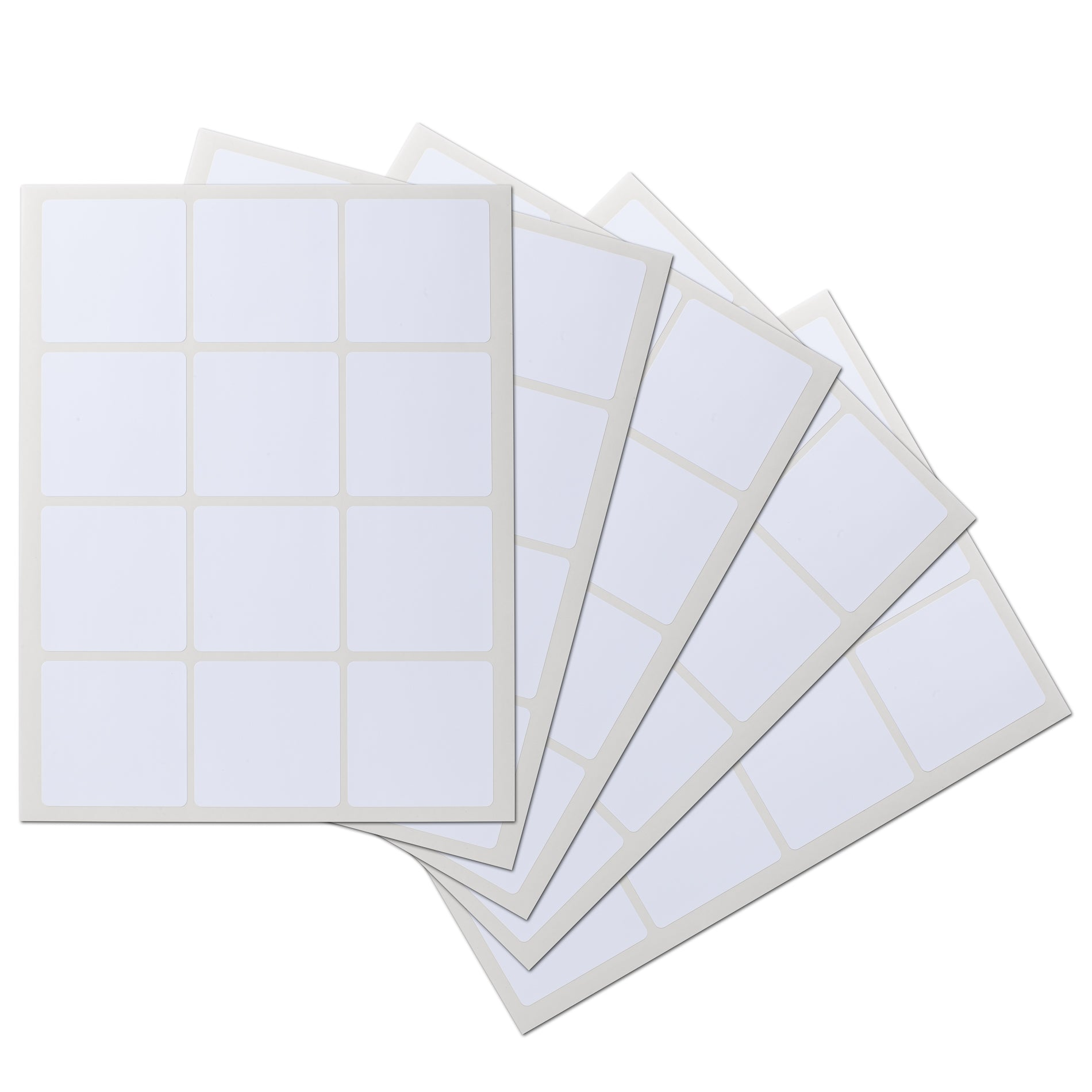 2.5 x 2.5 Square Waterproof Labels