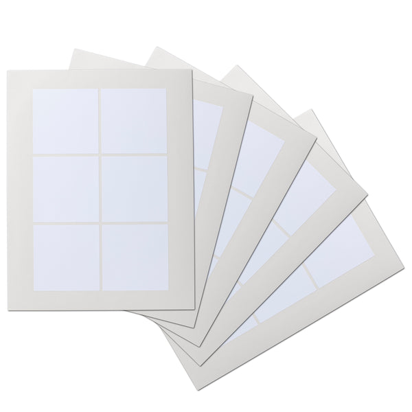 3 x 3 inch Square Waterproof Labels