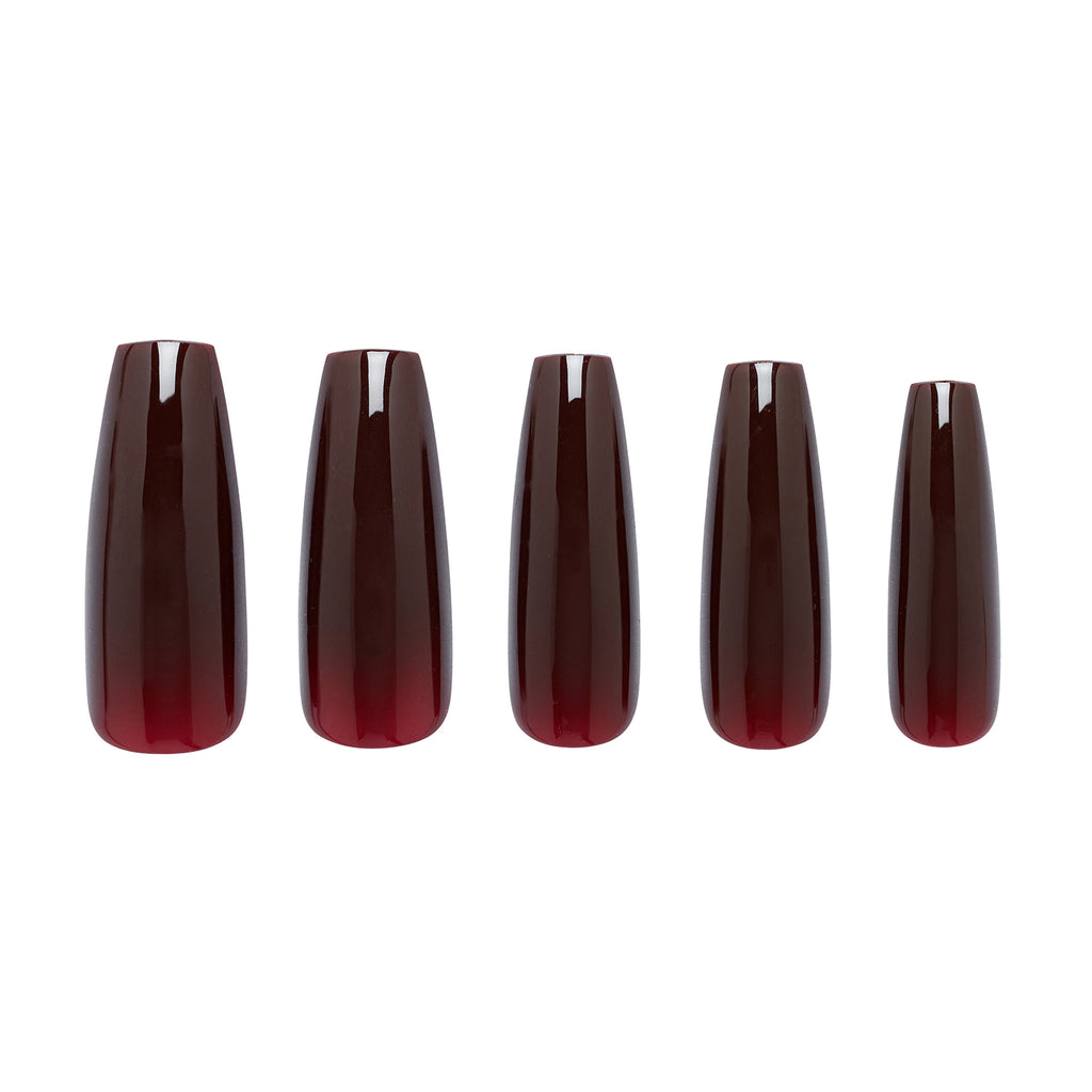 Five Cherry Cola nail sizes
