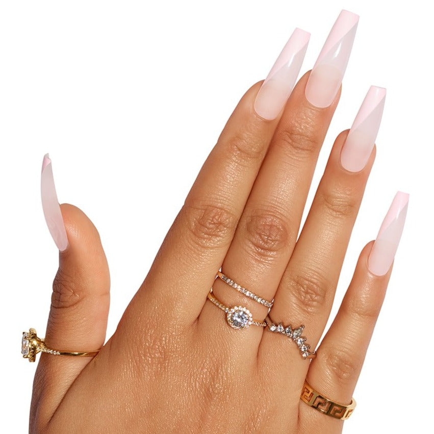 Tres She Ultra Long Instant Acrylics nails_2 Dolled Up