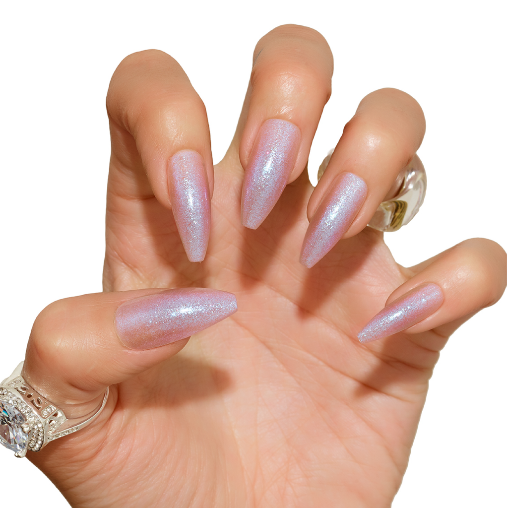 Tres She Instant Acrylics Nails Cybersex Nude Shimmer