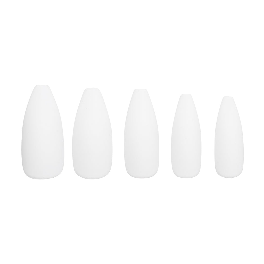 Tres She Instant Acrylics Nails Blow Matte White