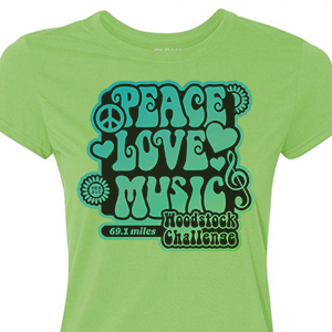 Woodstock Female Shirt