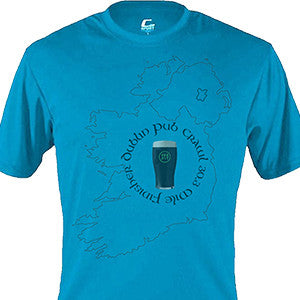 Dublin Pub Crawl Male Shirt