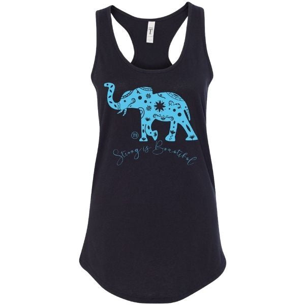Elephant Strong and Beautiful tank