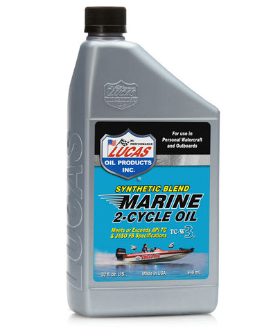 Synthetic Blend 2-Cycle Marine Oil Quart