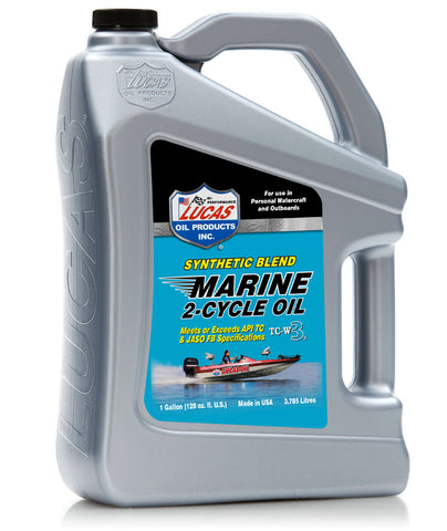 Synthetic Blend 2-Cycle Marine Oil Gallon