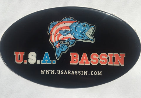 USA BASSIN Decal