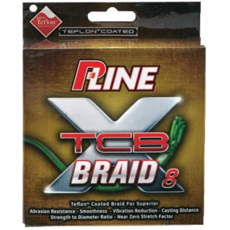 P-Line TCB 8 Teflon Coated Braid Green 150yd