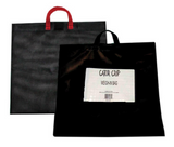 Black Weigh-in Bag with Mesh Insert