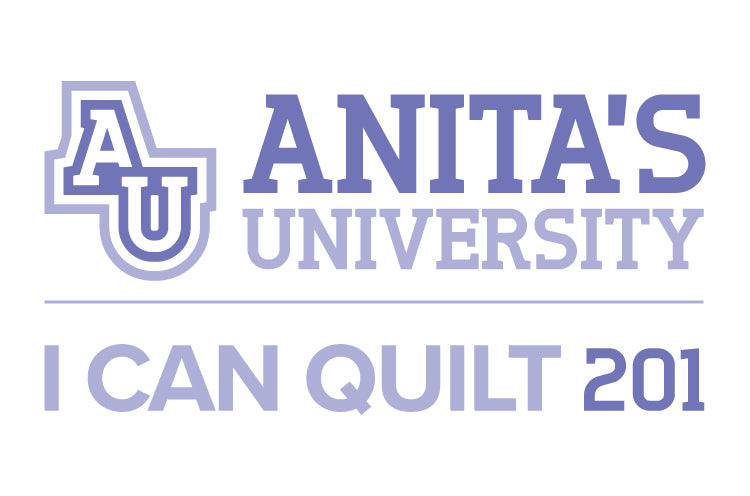 I Can Quilt 201 - Anita's University - Victorville