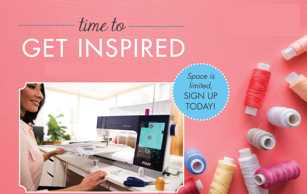 Inspiring Sewing & Quilting Event