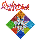 Quilt in a Clock by Dianne Springer