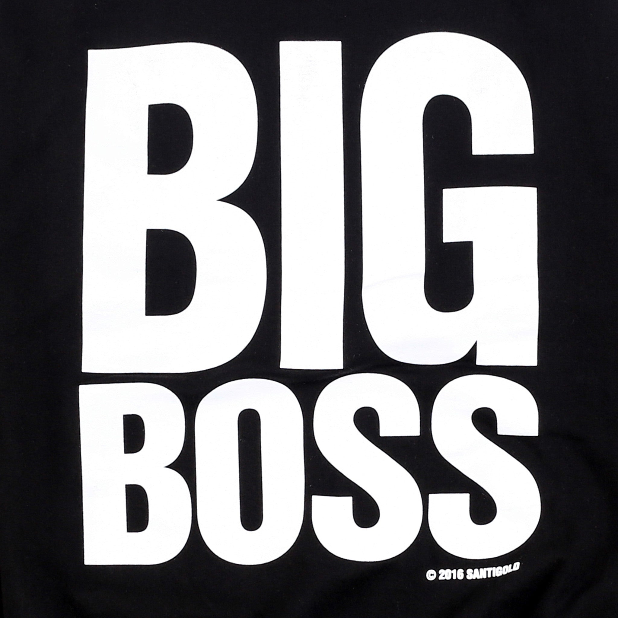 Big Boss Crewneck Sweatshirt (Black)