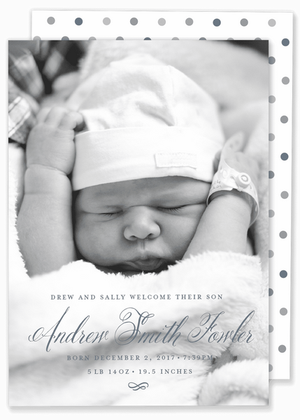 Andrew Birth Announcement